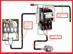 single phase contactor wiring diagram 12 best electrical wiring images electrical wiring  wire  12 best electrical wiring images