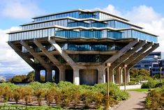 The Geisel Library at the University of California, San Diego in La Jolla, California was named after Dr Seuss (Theodor Seuss Geisel),