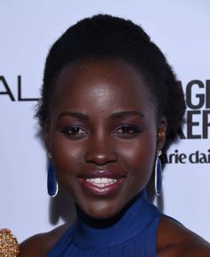 Lupita Nyong'o attends the 2016 Marie Claire Image Maker Awards in Los Angeles, January 13, 2016