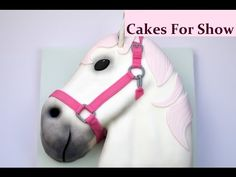 """I was asked to make a cute horse themed Birthday cake for a young girl who loves horses. This is how I made it. I began with a 12"""" square cake. Music - Unity..."""
