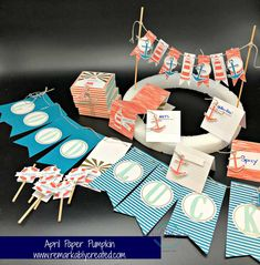 You have just a few more days to be tempted to take advantage of the 50% off Paper Pumpkin offer and we have some temptation for you. For those who already subscribing to a fun monthly box of creativity and have to assemble their April kit we have some inspiration for you. So enjoy visiting …