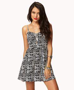 Tribal-Inspired Sweetheart Dress   FOREVER 21 - 2038016016