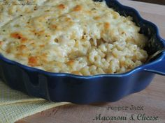Pepper Jack Macaroni & Cheese: this was really easy to make and so good! I will probably never buy boxed Mac & Cheese again. This specific recipe has a bit of a zip to it because of the pepper jack cheese. Beauty is you could use any cheese you wanted. Rate: