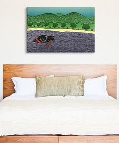 Love this I Like Sticks Gallery-Wrapped Canvas by Stephen Huneck on #zulily, $59-$100 !!  #zulilyfinds