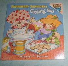 Strawberry Shortcake Vintage Cooking Fun Book by VintageToyAddict