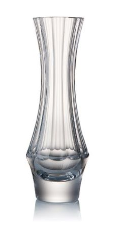 Essential D/écor Entrada Collection Tall Two Tone Glass Vase 18 by 9