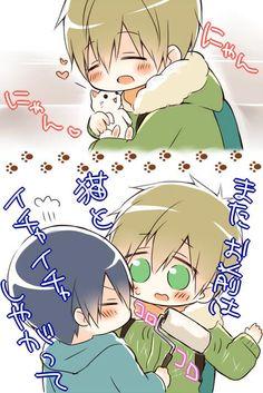 Makoto and Haru! XD