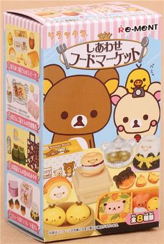 Rilakkuma Happy Food Market Re-Ment miniature blind box