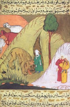 Siyar al-nabi, A tiger who doesn't attack the Prophet