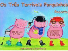 3 terriveis porquinhos