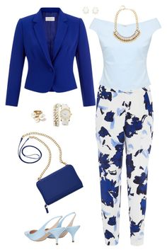 """""""Untitled #1527"""" by ruru833 ❤ liked on Polyvore featuring Oscar de la Renta, Hobbs, Ted Baker, Nina Ricci, TravelSmith, Charlotte Russe, Adele Marie and Kendra Scott"""