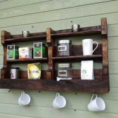Coffee/tea bar from (del)HutsonDesigns on OpenSky