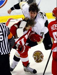 Evgeni Malkin just cause he's beating up a Redwing