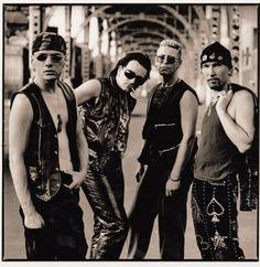 Anton Corbijn U2 Achtung Baby Photo Shoot-