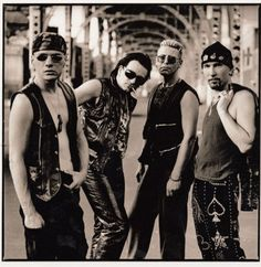 Anton Corbijn U2 Achtung Baby Photo Shoot-
