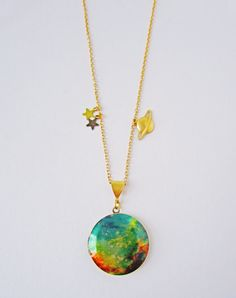 Take a journey through the cosmos with these nebula lockets featuring a wonderful image taken by the Hubble Space Telescope; the birth place of the...