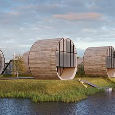 DO Architects aims to take lagoon-side dwelling Lithuanians one step beyond building modernity into totally tubular slices of the good life.