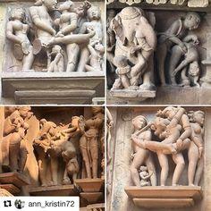 Kama Sutra. #reiseblogger #reisetips #reiseliv  #Repost @ann_kristin72 with @repostapp  Khajuraho (en natt der for et par dager siden elendig internett...) Der besøkte vi noen templer med erotiske motiv/kama sutra..... #khajuraho #khajurahotemples #kamasu