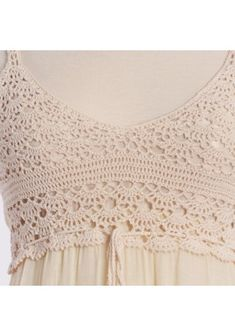 crochet yoke for a great dress from Ruche