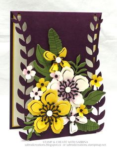 Botanical Builder Card 3