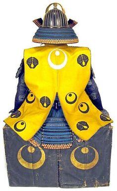 Ni-mai tachi do with a jinbaori worn over it.