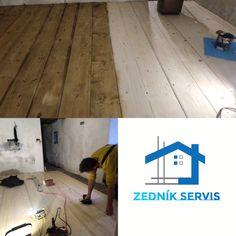 Rekonstrukce masivní dřevěné podlahy na RD. ⚒👷🏻♂️