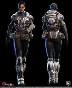 Gears of War 3 - Character Art Dump (new images posted on Pg 17) - Page 16