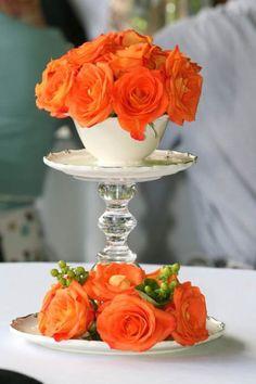 Esta primavera decorar con mandarina es tendencia en decoración #mandarina #pantone #primavera15 #spring15 #decoracion