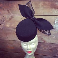 'Risky Business' - Adorn Collection Millinery By Melissa Barnes #millinery #hats #HatAcademy