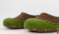 These womens moccasin slippers are handmade wool moccasin using only natural eco friendly products and materials - high quality natural sheep wool, natural leather, warm water and organic soap. They are designed to be worn at home, very soft, warm really cozy and comfortable for your