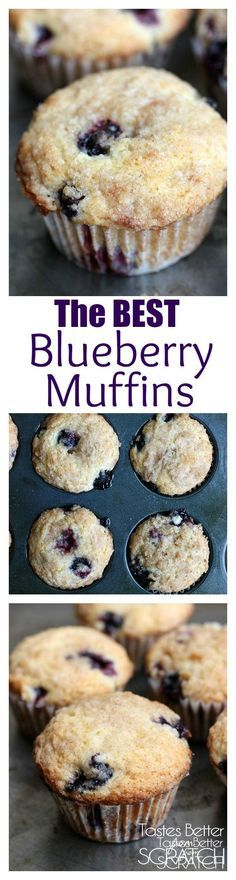 Blueberry Muffins EVER! Jumbo muffins with a cinnamon sugar crumb ...
