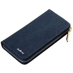 Womens Fashion Canvas Phone Holder Long Wallet