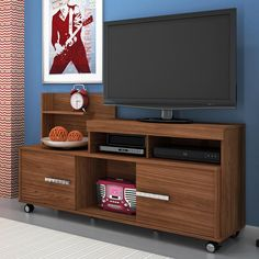 Ruang Tv, Modern Tv Wall Units, Tv Unit Design, Living Room Kitchen, The Unit, Furniture, Home Decor, Furniture For Living Room, Decorative Objects