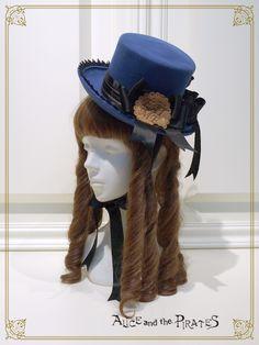 てまねき影絵のアリスミニHat/Beckoning shadow picture ALICE mini hat | BABY,THE STARS SHINE BRIGHT