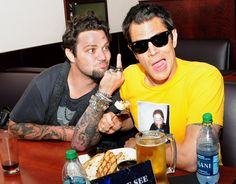 Curious where Johnny Knoxville & Bam Margera like to vacation??? Find out in our interview with them! via Beers & Beans