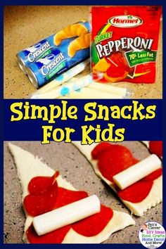 Simple Snacks for Kids! Need cheap and easy dinner and snack ideas for picky eat. - Simple Snacks for Kids! Need cheap and easy dinner and snack ideas for picky eater kids? These budg - Dinner Recipes Easy Quick, Easy Meals For Kids, Quick Easy Meals, Simple Snacks, Kids Meals, Family Meals, Fast Meals, Simple Recipes, Easy Eat