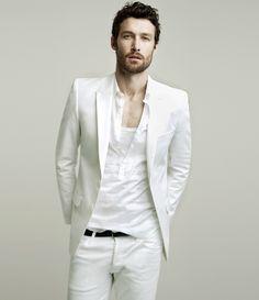 White.    #fashion  #style  #mens