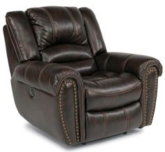 Latitudes - Hometown Glider Recliner by Flexsteel Rv Recliners, Power Recliners, Glider Recliner, Furniture Companies, Rv Living, Living Room Chairs, Rustic Furniture, Seat Cushions, Rustic Decor