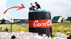10 000 ЛИТРОВ КОКА-КОЛА + МЕНТОС / 10 000 liters of Coca-Cola + Mentos