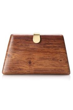 wooden clutch from french connection. I don't know how I feel about this. but it is different
