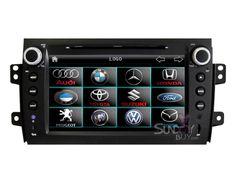 $367  Suzuki SX4 GPS Touchscreen DVD Head Unit RDS