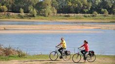 800 KM de pistes cyclables sont aménagées le long de la Loire