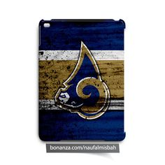 Los Angeles Rams Paints iPad Air Mini 2 3 4 Case Cover