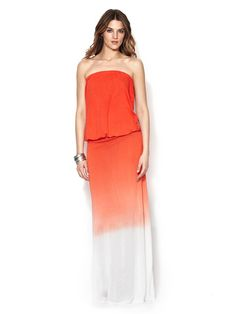 Sydney Jersey Strapless Maxi Dress by Young Fabulous & Broke at Gilt
