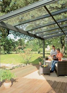 Pergola With Glass Roof Key: 8988648966 Pergola Attached To House, Pergola With Roof, Wooden Pergola, Covered Pergola, Patio Roof, Pergola Patio, Pergola Plans, Pergola Kits, Backyard Patio