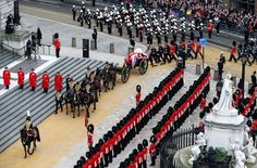 Margaret Thatcher's Funeral--Grand entrance: The gun carriage carrying the coffin drawn by the King's Troop Royal Horse Artillery arrives at St Paul's Cathedral Prince William And Harry, Prince Philip, Queen Elizabeth Ii Husband, Royal Horse Artillery, The Iron Lady, Queen Margrethe Ii, Margaret Thatcher, British Prime Ministers, David Cameron