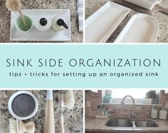 I love an organized sink! Having a little sink side system and organization in place will help you keep your sink neat and tidy. Need a little inspiration for your sink? I've put together a handful of sink organizing ideas – grab an idea and get started! Keep reading for 4 awesome sink-side accessories for FREE!... (read more...)