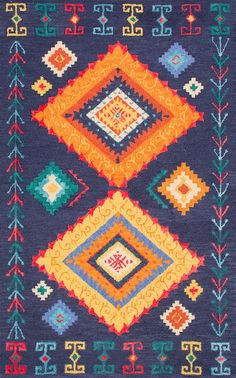 Rugs USA - Area Rugs in many styles including Contemporary, Braided, Outdoor and Flokati Shag rugs.Buy Rugs At America's Home Decorating SuperstoreArea Rugs Morrocan Rug, Moroccan, Navy Rug, Hand Tufted Rugs, Rugs Usa, Buy Rugs, Contemporary Rugs, Colorful Rugs, Wool Rug