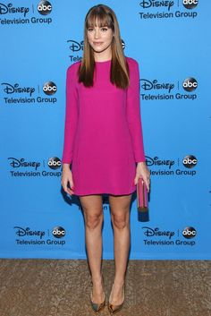 Christa B. Allen is stuning in a Jenni Kayne dress ans Brian Atwood shoes @ 2013 Disney/ABC TCA Party