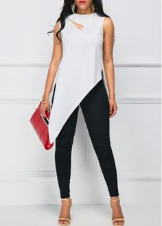 Swans Style is the top online fashion store for women. Look Fashion, Trendy Fashion, Fashion Outfits, Womens Fashion, Ladies Fashion Tops, Ladies Tops, Stylish Dresses, Casual Dresses, Casual Outfits